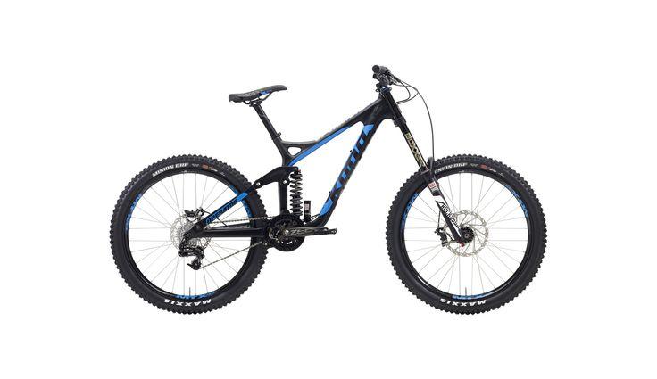Kona Operator - Vélo Freeride / Downhill Homme - bleu/noir Achetez malin sur bikester.fr