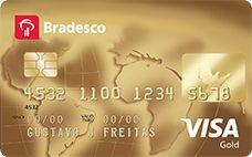 Cartão de Crédito Bradesco Visa Gold