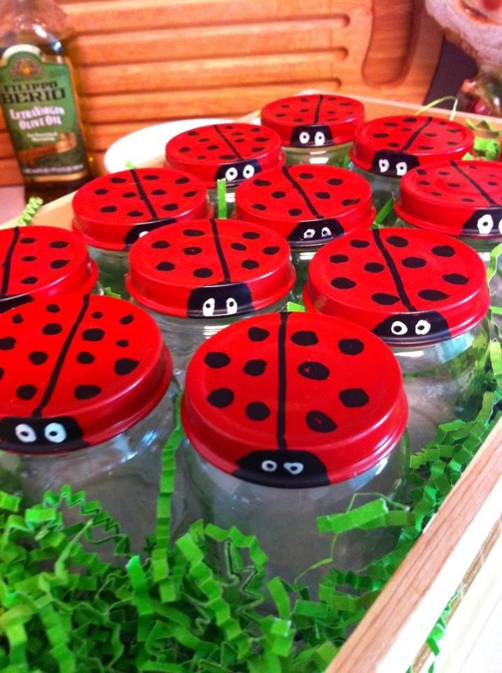 strawberries that are made to look like ladybugs - Google Search