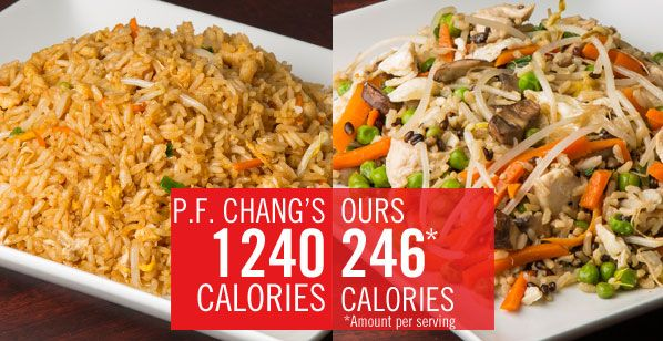 P.F. Changs Chicken Fried Rice gets a healthy (yet tasty) makeover