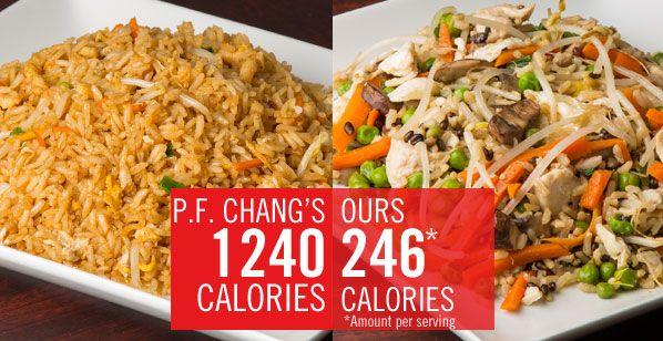 Healthy Food Options Pf Changs
