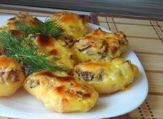 Olvass Minden nap: Így készítheted el a legfinomabb sütőben sült töltött burgonyát gombával és sajttal! Mind a tíz ujjad megnyalod utána!