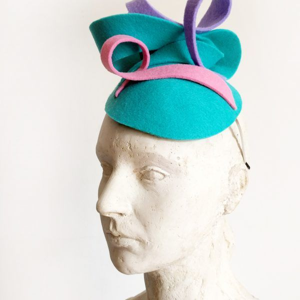 INNA Fascinator hat made by Eventivity Accessorize