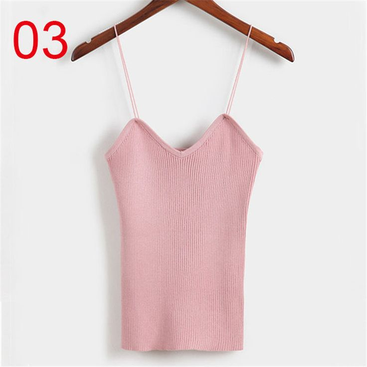 6 Color Sexy Knitted Tank Tops Women's Camis Vest Sequined V Neck Crop Tank Tops Blusa Solid Silver Camis Beige Fitness Female