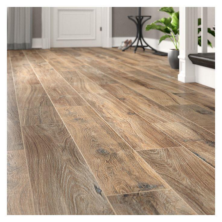 Emser Tile Legacy 8 X 47 Porcelain Wood Look Tile Wayfair Oak Laminate Flooring Wood Floors Wide Plank Wood Look Tile Floor