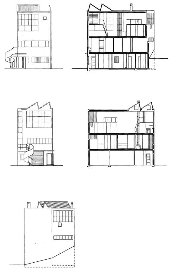 Maison atelier ozenfant paris par le corbusier - Maison style atelier ...