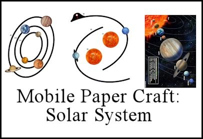 paper solar system - photo #24
