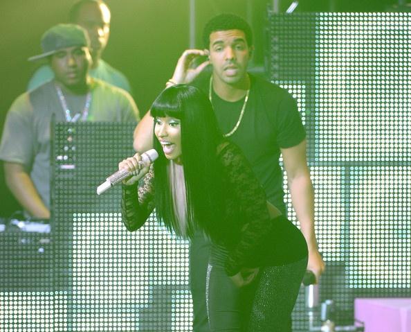 Nicki Minaj, Drake, and Lil Wayne At Roseland Ballroom Show (Photos)