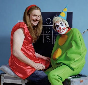 Mighty Boosh Testcard - scary and funny