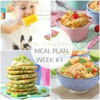 Family Meal Plan Week #1