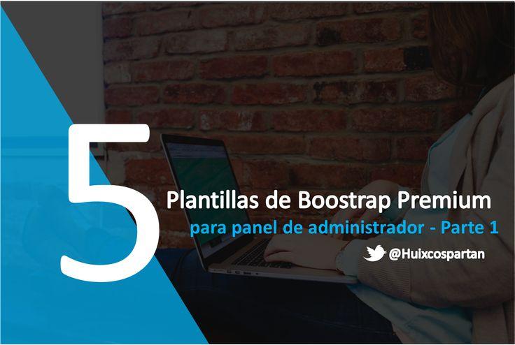 5 plantillas Bootstrap para tu panel de administrador premium (Vol. I) Innovadora, Practica y Sencilla Bootstrap es quizas la opcion numero uno para desarrollo agil de sitios web por ser robusta y completamente funcional, pero parece y se siente un poco descuidada.  Visiten http://www.frontend-backend-profesional.info/2015/07/5-plantillas-bootstrap-para-tu-panel-de-administrador-premium-vol-1.html