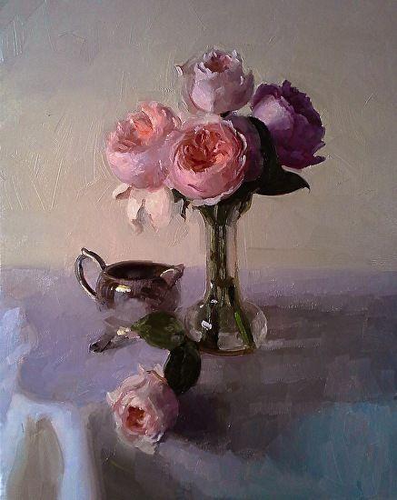 "Juliet by Dennis Perrin Oil ~ 16"" x 20"""