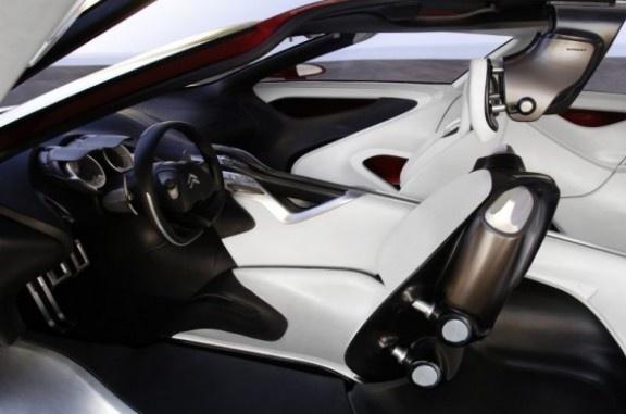 Citroen C Metisse Future Car Supercar Futuristic Car Interior