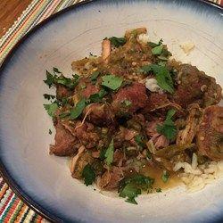 Pork Stew in Green Salsa (Guisado de Puerco con Tomatillos) - Allrecipes.com