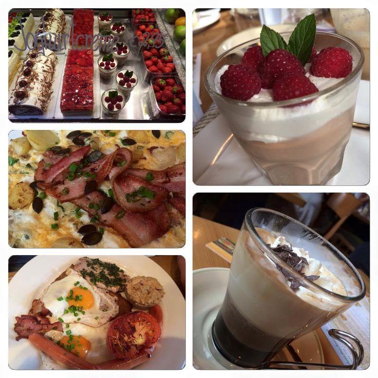 breakfast at Rosenberger-motorway-restaurant (AUT) - I always enjoy having breakfast or a snack during the day here