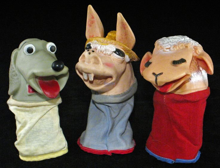Lambchop, Charlie Horse, and Hush Puppy childrens tv