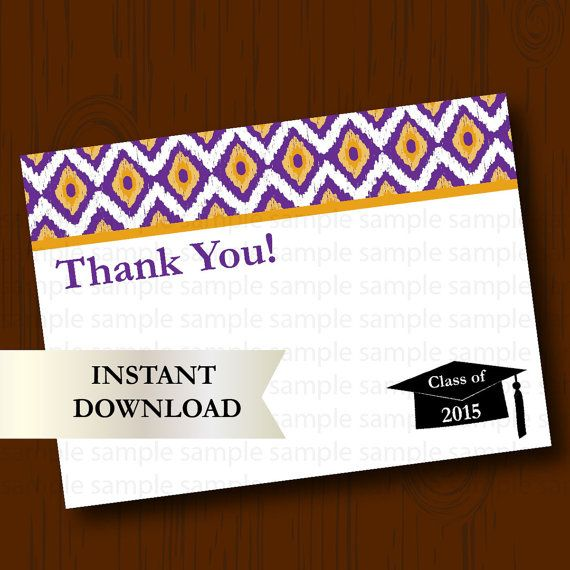 81 best Graduation Announcements and Party Ideas images on - graduation thank you notes