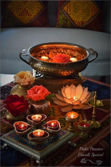 Diwali, Diwali brass décor, Diwali Décor, Diwali Inspiration, Diwali vignette, Indian festival decor, Indian home décor, Indian inspired décor, Diwali décor for home, Home decorations for Diwali