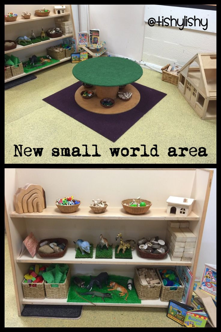 New small world area and the cable reel.