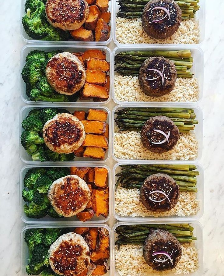 Meal prep by @lucasfitfrench is looking on point and meeting his goals! He has ground rump steak  burgers with asparagus & rice and ground turkey burgers with broccoli & sweet potatoes! - Get your meals on point with support from @mealplanmagic! Set goals and build a customized plan made to meet them. Stop guessing and struggling to see results! - ALL-IN-ONE TOOL & GUIDES -  Build Custom Plans & Set Nutrition Goals  BMR BMI & Max Rate Calculator  Learn Your Macros by Body Type & Goal…