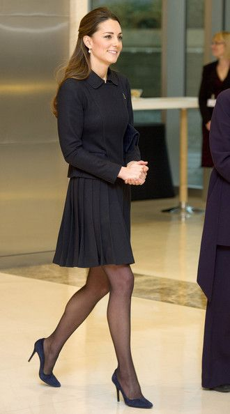 Kate Middleton Visits Canary Wharf