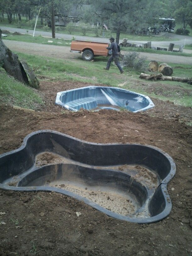 19 best hot tub repurposed images on pinterest backyard for Koi pond removal