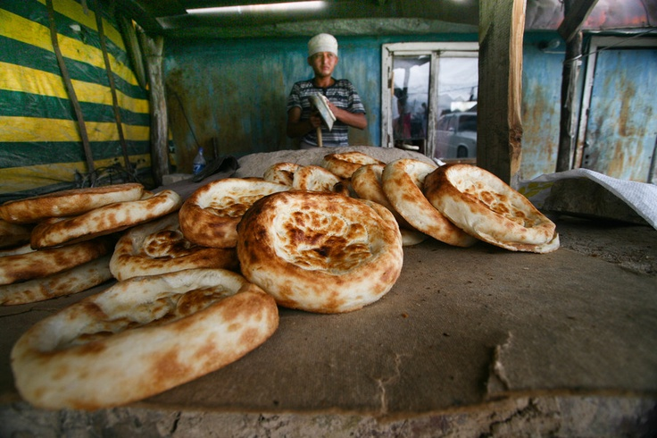 Flat bread, Kyrgyzstan