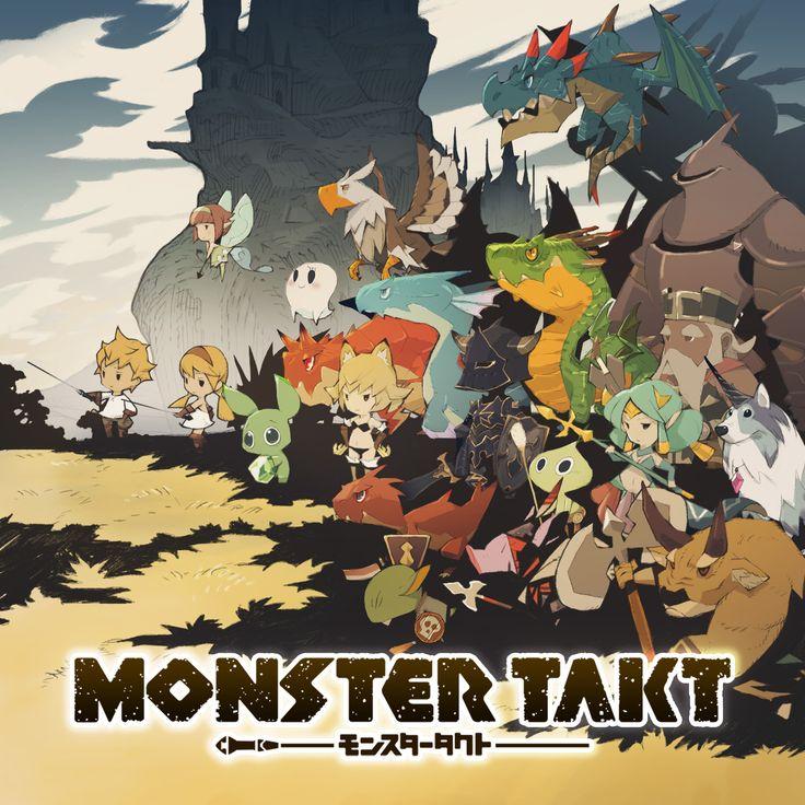 Android版配信中!「MONSTER TAKT」は、少年(少女)がタクトの持つ不思議な力で、モンスターを操りクエストをクリアしていくゲームです。個性的なモンスターを集め、自分だけのチームを作り、強敵モンスターを倒しましょう!