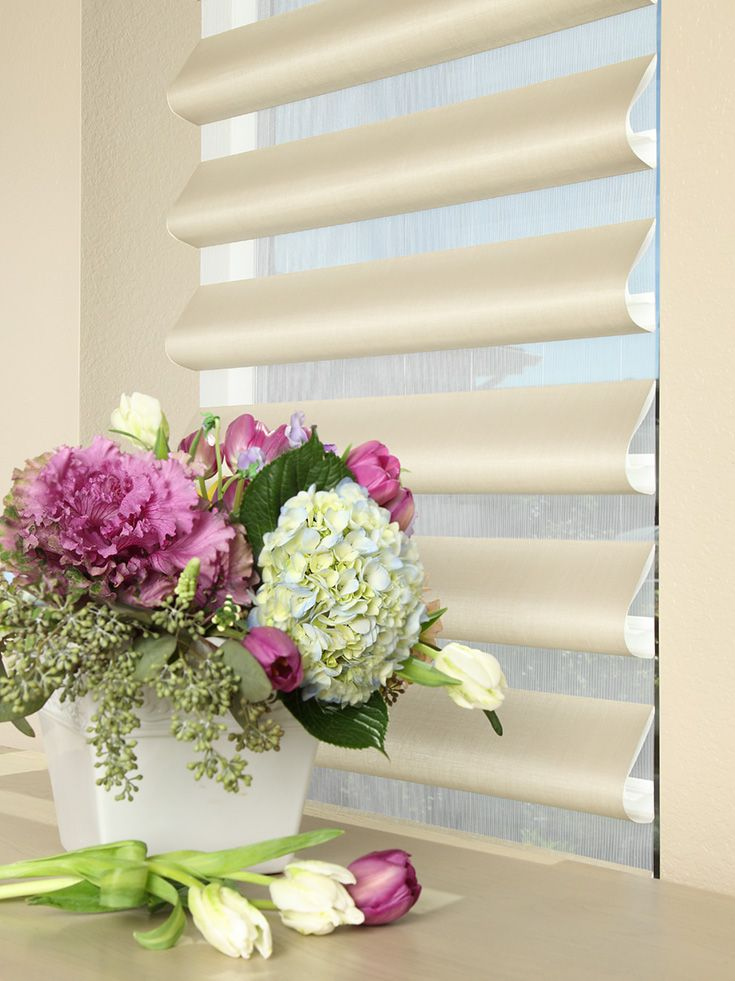 Pirouette® Window Shadings are perfect for the longer days of spring and summer.