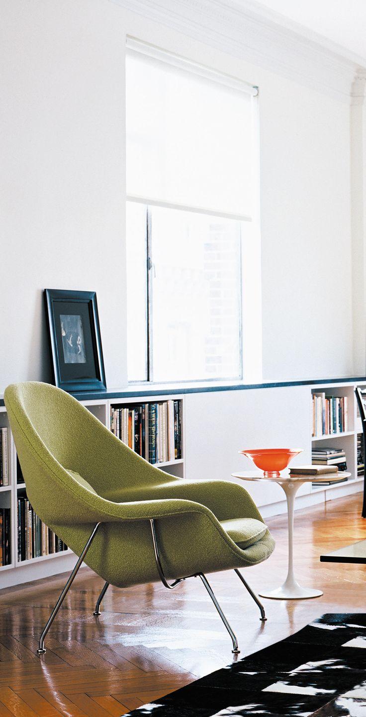 Womb chair living room - Saarinen Womb Chair