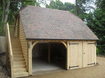 Country Oak Barn Picture Portfolio of Oak framed Structures 8