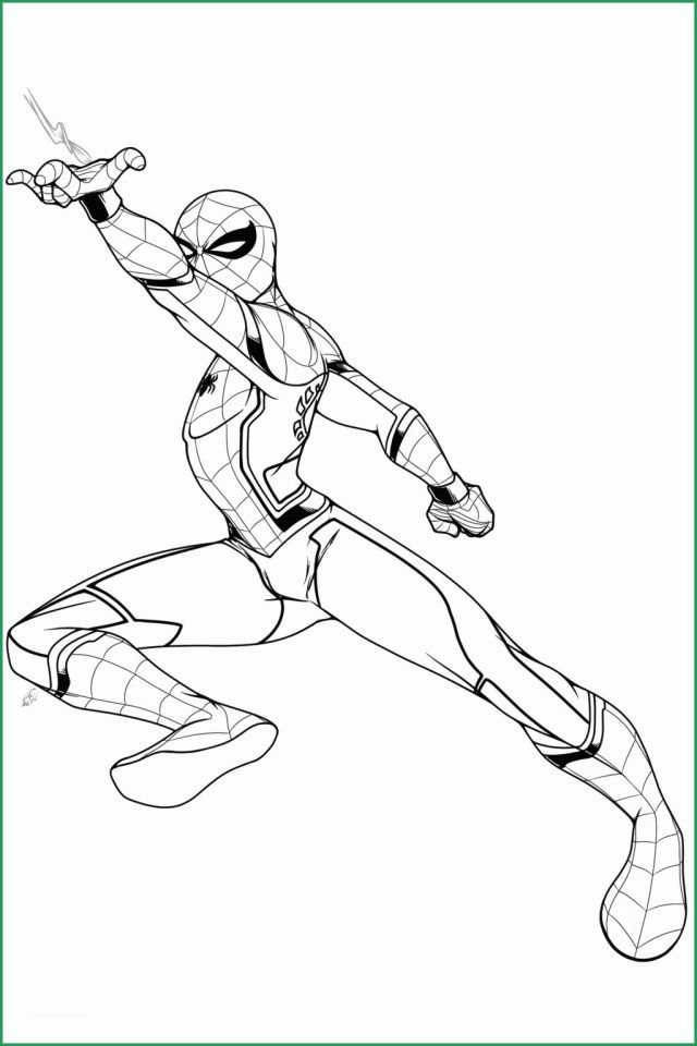 Creative Photo Of Civil War Coloring Pages Spiderman Coloring