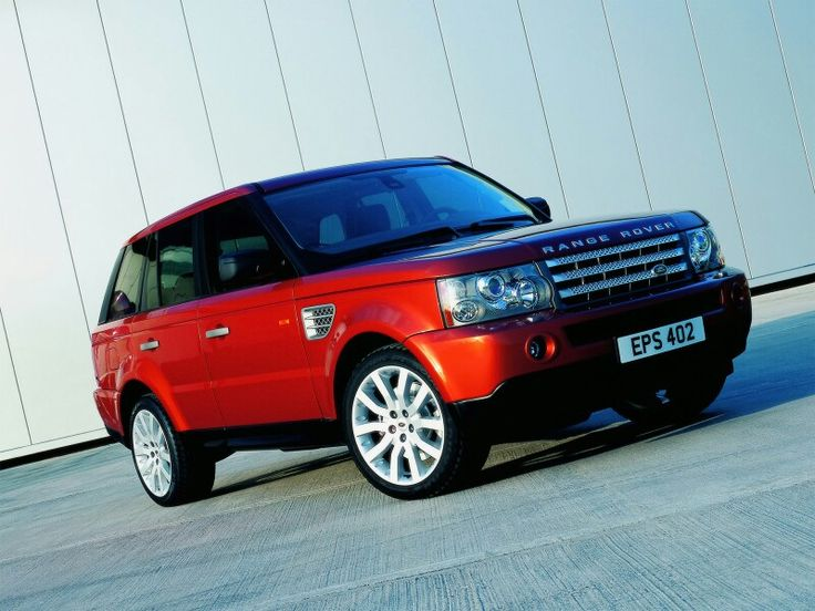 Red Range Rover Sport Luxury