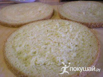 супервысокий Бисквит(с добавлением кипятка и без разделения яиц )