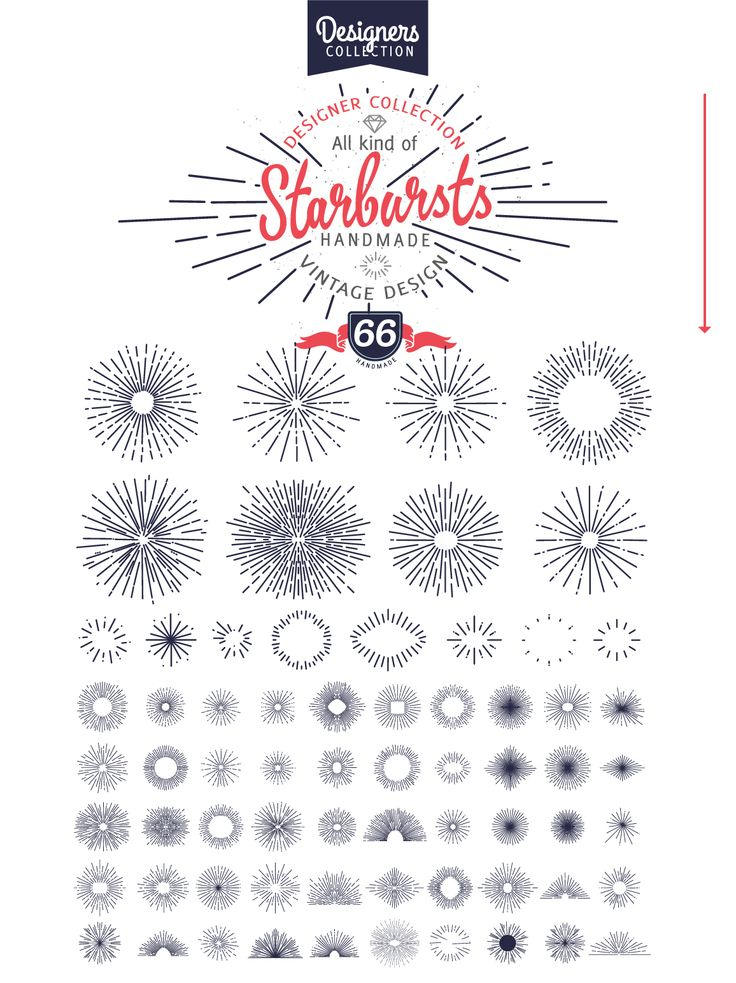 240 Styled Ribbons,Starbursts, Shape by VectorBakery on Creative Market