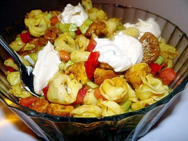 Słodkości i nie tylko: Sałatka z tortellini