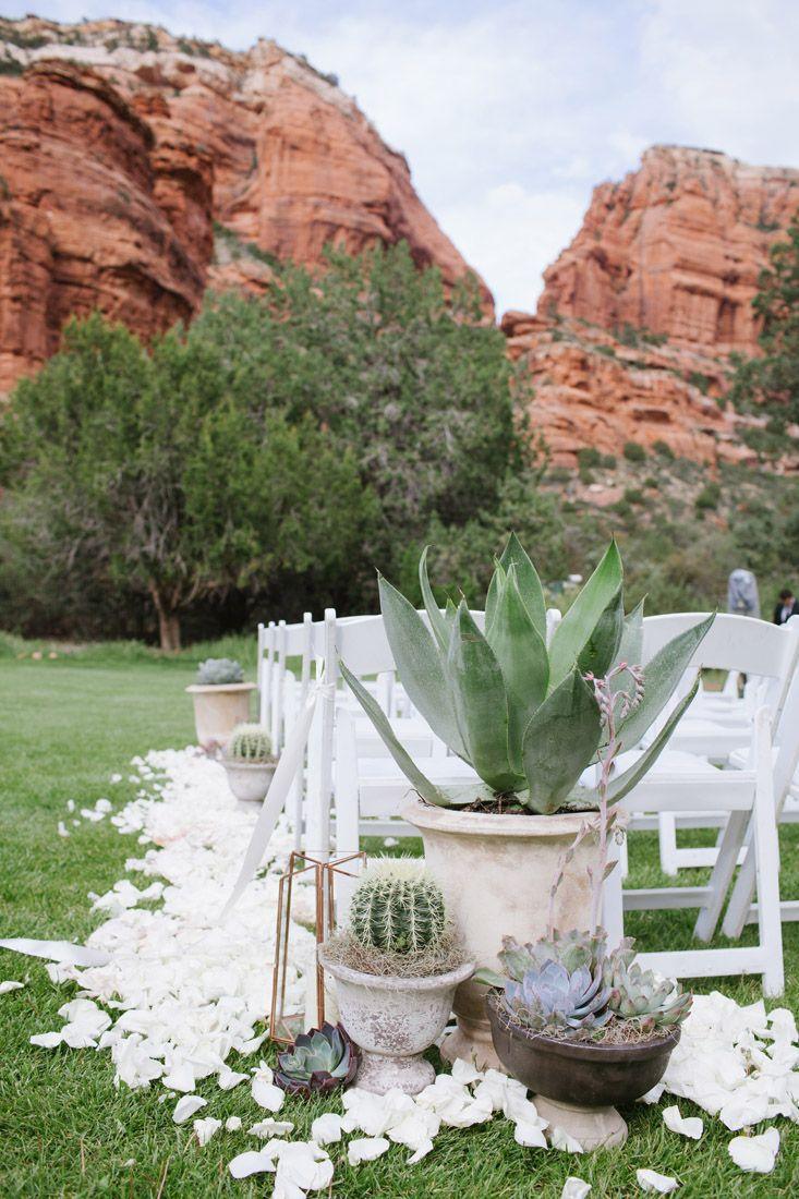 Stephanie and Ben's Sedona Wedding at Enchantment - Cameron and Kelly Studio