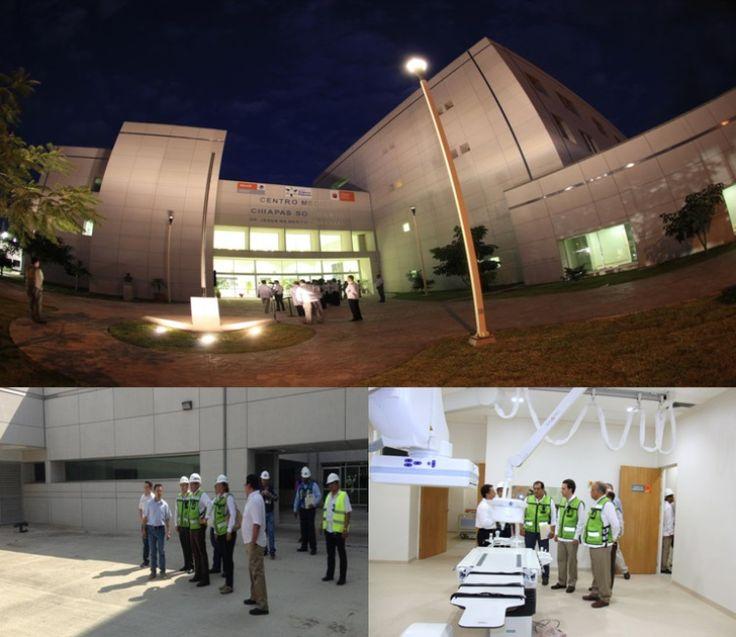 Inauguran hospital Gómez Maza en Tuxtla Gutiérrez - http://notimundo.com.mx/salud/inauguran-hospital-gomez-maza-en-tuxtla-gutierrez/21702