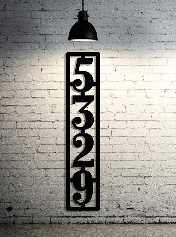 Best 25 Large house numbers ideas on Pinterest House numbers