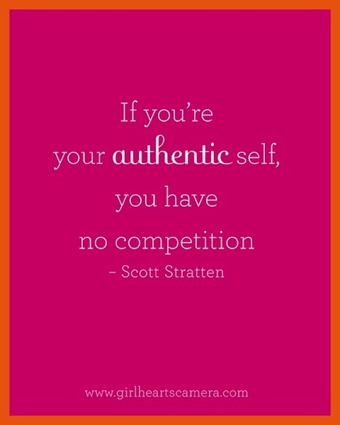 no competition | your authentic self | the wellness warrior