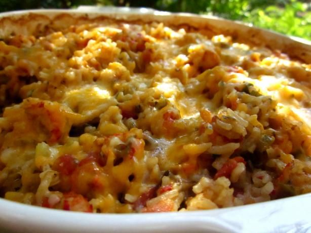 Louisiana Crawfish Casserole: Casseroles Recipes, Louisiana Crawfish, French Onions Soups, Belle Peppers, Garlic Bread, Maine Cour, Crawfish Casseroles, Seafood Casseroles, Casserole Recipes