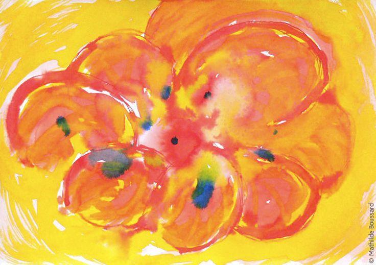 #1 - Fleur rouge