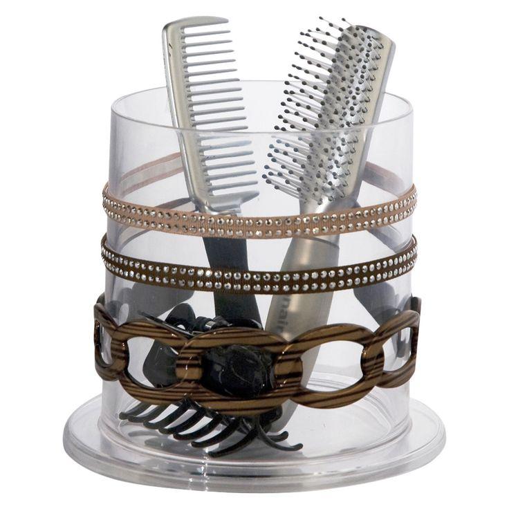 U.S. Acrylic LLC Stackable Hair Accessory Holder
