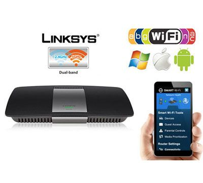 Win Today's Giveaway of the Week - Linksys AC1600 Wireless Dual-Band+ Router  - Drawing 7/25/15 @ 3PM EST