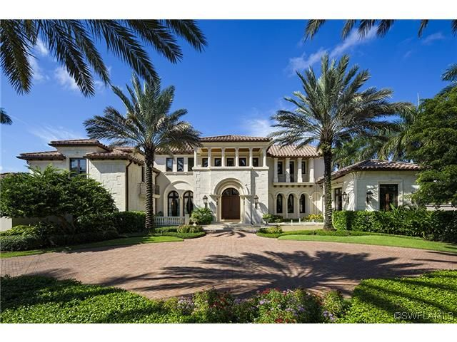 Naples mega mansion on the beach gulf of mexico south for Mega mansions in florida