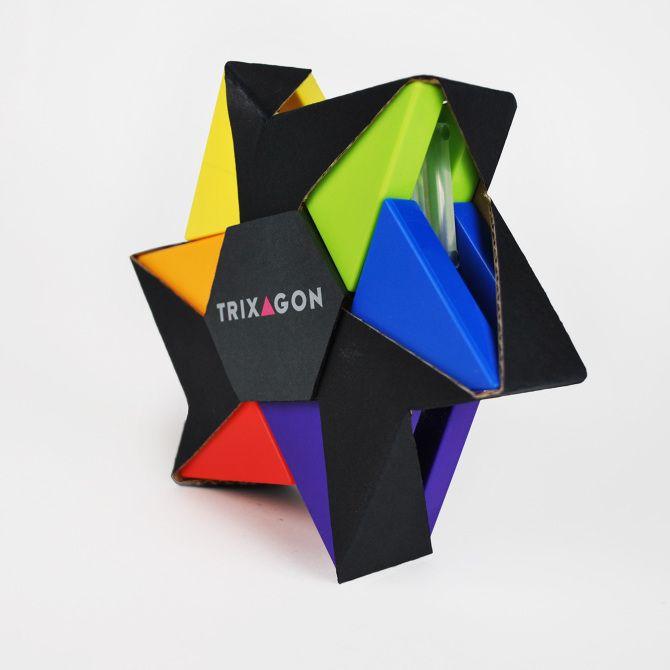 Trixagon Packaging - Christina Rees