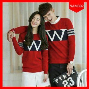 Sweater Couple Huruf  Wisman Terbaru