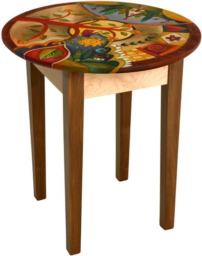 End Table | Sticks | Pinterest | Paint furniture, Sticks furniture and Hand painted furniture