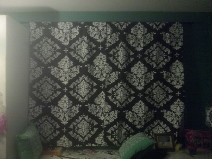 Damask curtains from Walmart. 17 Best images about Bedroom on Pinterest   Theme bedrooms  Damask