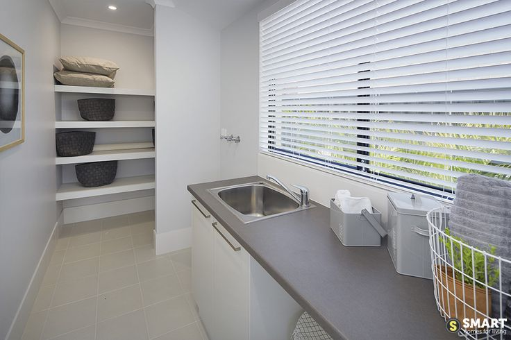 Laundry with plenty of storage
